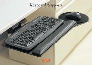Keyboard Supports Brochure (1.1 MB) - Knoll