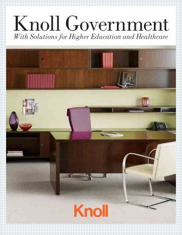 Government/GSA Brochure - Knoll
