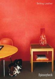 Belting Leather Brochure - Spinneybeck