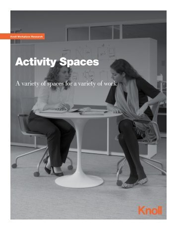 Activity Spaces - Knoll
