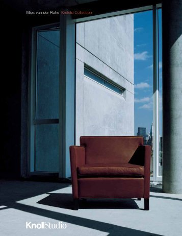 Krefeld Collection Brochure - Knoll
