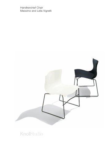 Handkerchief Chair Massimo and Lella Vignelli