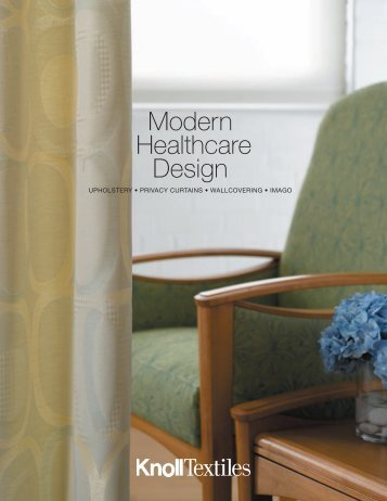 Modern Healthcare Design - Knoll