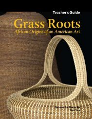 Teacher's Guide - Museum for African Art