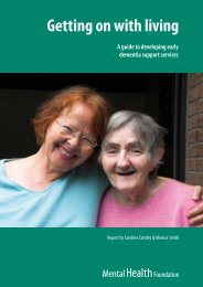 Getting on with living - NHS Greater Glasgow and Clyde