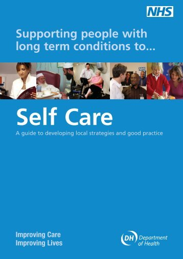Supporting people with long term conditions to self care