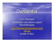 Dementia Presentation - The Knowledge Network