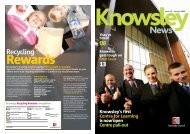 Issue 18 January 2009 (PDF 2Mb) - Knowsley Council