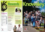Issue 20 June 2009 (PDF 4.3Mb) - Knowsley Council