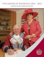The Mayor of Knowsley 2012 - 2013 - Knowsley Council