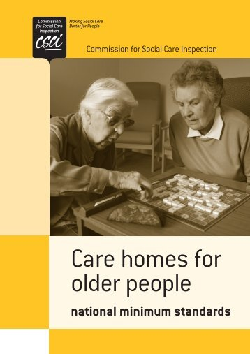 CSCI Care Homes 12pp