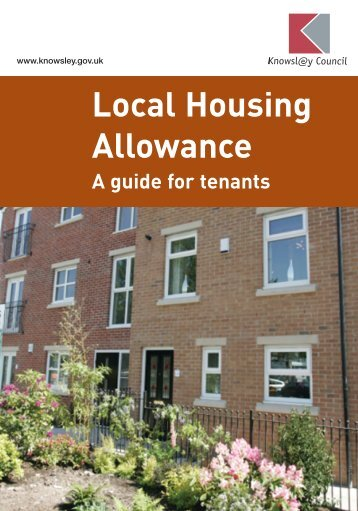 Local Housing Allowance guide for tenants - Knowsley Council