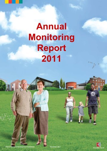 Annual Monitoring Report 2011 (PDF 3.8MB) - Knowsley Council