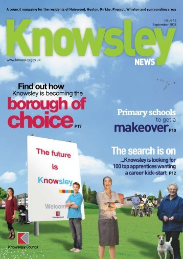Issue 16 Winter 2008 (PDF 457Kb) - Knowsley Council