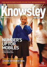 number's up for mobiles number's up for mobiles - Knowsley Council