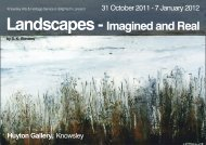 Landscapes -Imagined and Real