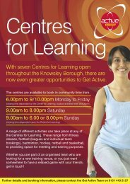 Centres for Learning