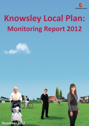 Monitoring Report 2012 - Knowsley Council