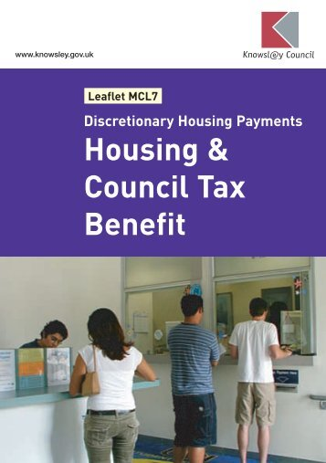 Housing & Council Tax Benefit - Knowsley Council