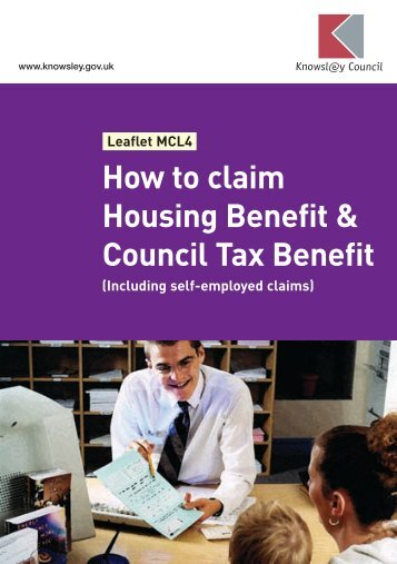 How to claim Housing Benefit & Council Tax ... - Knowsley Council