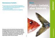 Greenpeace-Fischratgeber - Famila