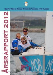 Regatta - Trening - Seilkurs - Matchrace - Turseiling - Havn ... - KNS
