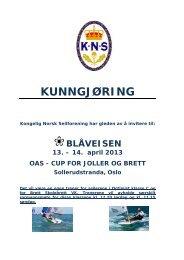 Medlems- og båtregister - KNS