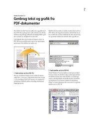 Genbrug tekst og grafik fra PDF-dokumenter - Adobe