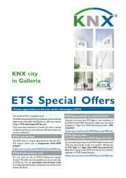 ETS Special Offers - KNX
