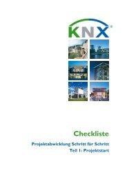 Checkliste - KNX
