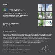 TOP EVENT 2012 city - KNX