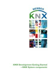 KNX Development Getting Started – KNX System components