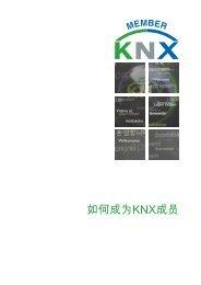 如何成为KNX成员