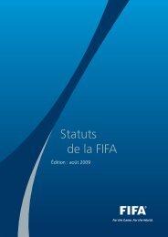 Statuts - FIFA.com