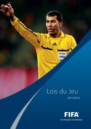Lois du Jeu - FIFA.com