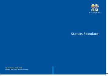 Statuts Standard - FIFA.com