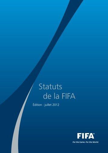 Statuts de la FIFA (2012) - FIFA.com