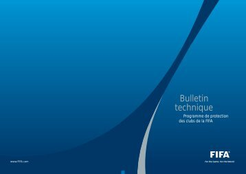 Bulletin technique - FIFA.com