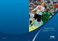 Règlement des Tournois Olympiques de Football ... - FIFA.com