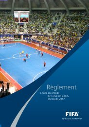 Regulations Futsal Thailand 2012_INHALT.indd - FIFA.com