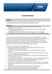 Football Féminin - FIFA.com