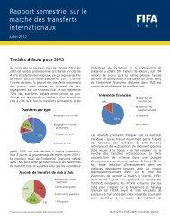 Rapport semestriel sur le marché des transferts ... - FIFA.com