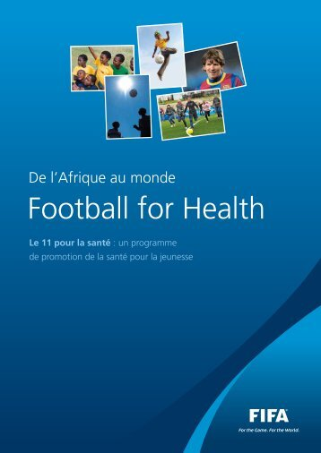 "Football For Health"" booklet - FIFA.com"