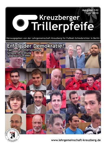 Trillerpfeife - LG Kreuzberg