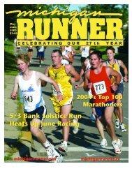May - June 2005 Event Calendar - Michigan Runner