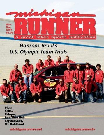 November 2007 - February 2008 Event Calendar - Michigan Runner