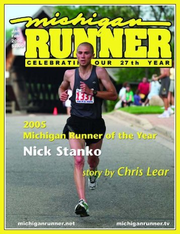 Nick Stanko is Michigan Runner of the Year