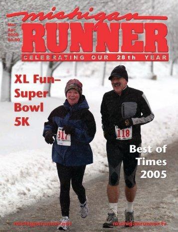2006 Event Calendar - Michigan Runner