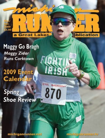 2009 Event Calendar - Michigan Runner