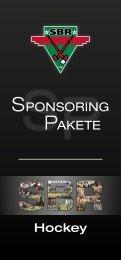 SPONSORING PAKETE - Hockey in Rosenheim